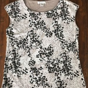 Liz Claiborne Sleeveless Shirt Size Large Tall